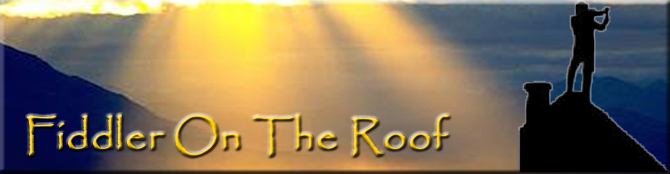 Fiddler On The Roof Banner